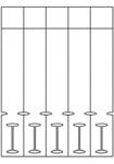 Schlaufenetiketten TF5r11CD (278x42 mm)
