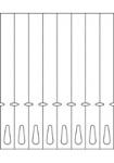 Schlaufenetiketten TF8r10 (250x26 mm)