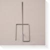 Ständer für Halterahmen  INOX-PUB-25